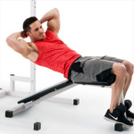 Marcy Power Cage and Weight Bench SM-5092 declined sit-ups