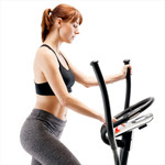 regenerating magnetic elliptical trainer machine marcy ME-704 mode using lcd