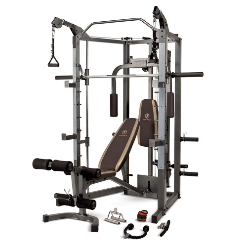 The Marcy Smith Machine SM-4008 is essential for creating the best home gym