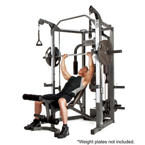 How much does the bar weigh on a smith machine