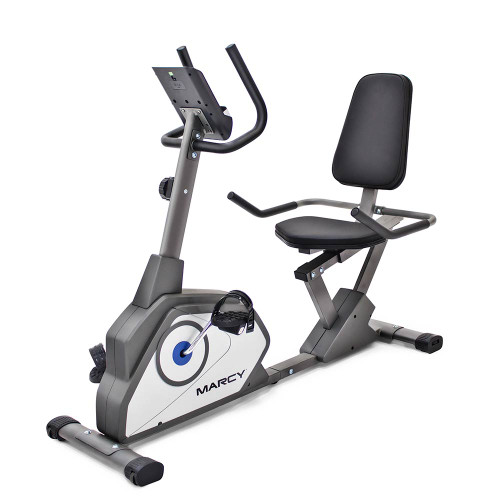 The Recumbent Bike NS-40502R by Marcy delivers a high intensity workout to the best home gyms