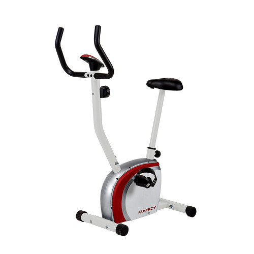 The Marcy Upright Exercise Bike NS-908U is an efficient stationary bicycle for high intensity cardio conditioning