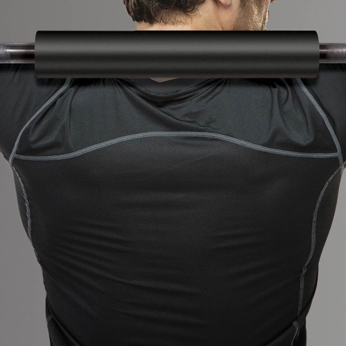 The Barbell Squat Shoulder Pad by Marcy will protect your shoulders from the bar