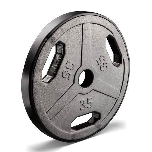 35 lbs. ECO STD Grip Plate to add weight to your BodyBuilding Workout