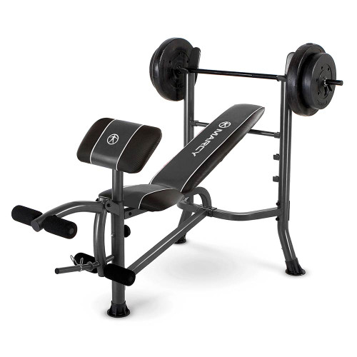 The Marcy Standard Weight Bench With 80 Lb.