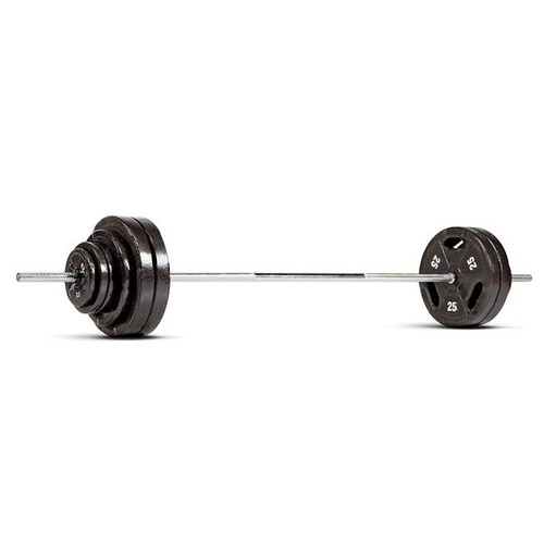 The Marcy Classic 160 Lb Standard Barbell Set B5W-160 is essential for creating the best home gym