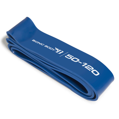 Bionic Body 50 lbs to 120 lbs Super Band outside of the package