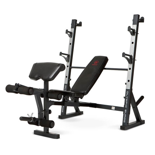 The Marcy Olympic Weight Bench MD 857 By Marcy Adds Variety To Your Workout  With ...