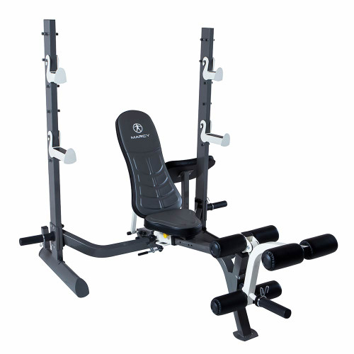 Marcy Olympic Weight Bench Md 857 High Quality Heavy Duty Strength Products