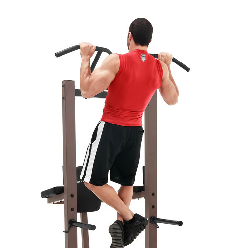 The Power Tower SteelBody STB-98501 in use - Pull Ups