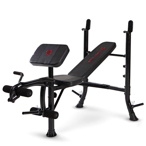 Marcy Club Standard Bench MKB-367RH is essential for creating the best home gym