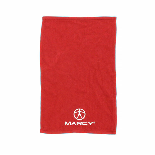 Marcy Pro Short Workout Towel - Red
