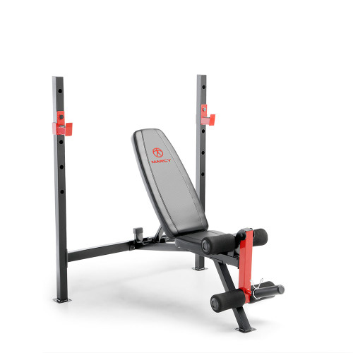 Delightful Marcy Adjustable Olympic Weight Bench MWB 4811 ...