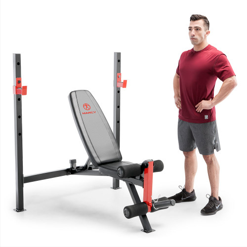 marcy adjustable olympic weight bench MWB-4811 with model