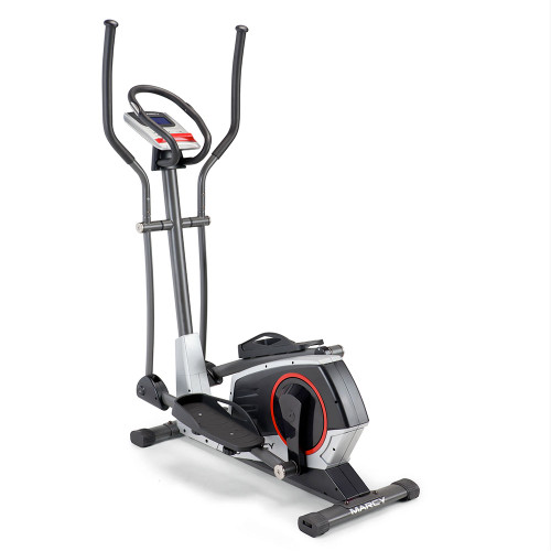 regenerating magnetic elliptical trainer machine marcy ME-704 back