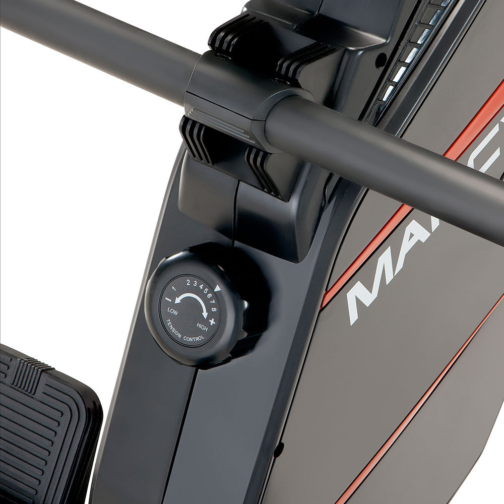 Marcy foldable regenerating rowing machine - NS-6002RE has an adjustable resistance knob to easily intensify your workout