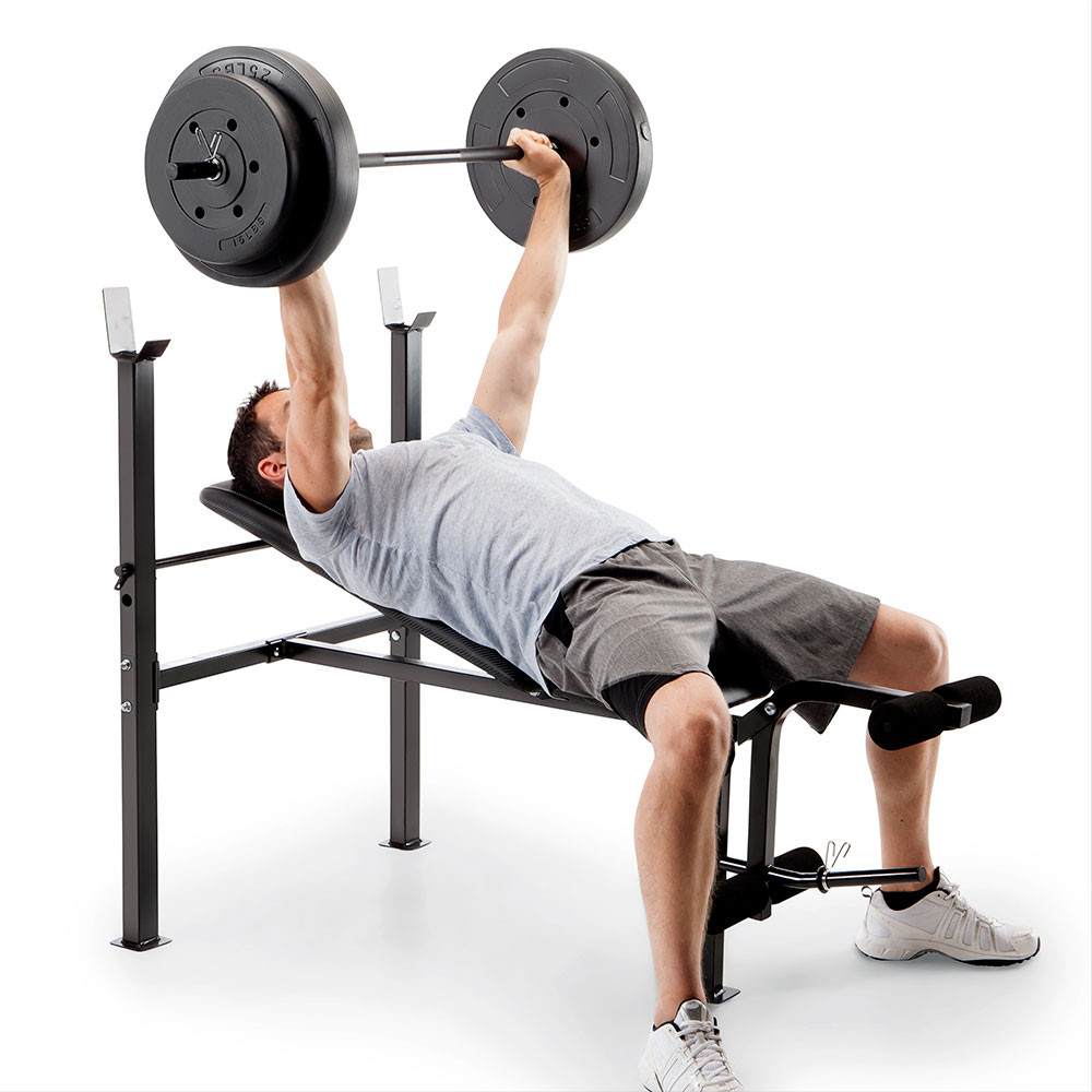 The Standard Bench CB-20111 by Competitor has an adjustable back pad to vary your workout