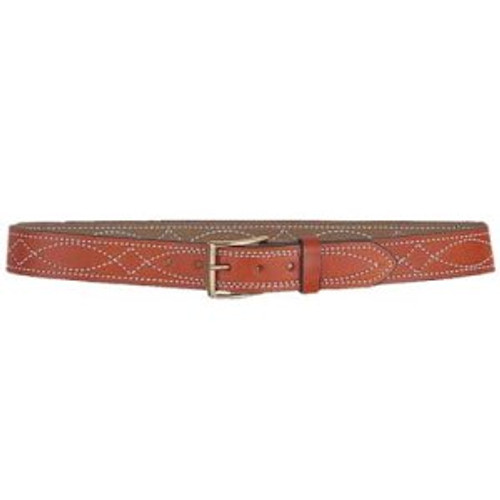FANCY STITCH LINED BELT, 1 1/2""