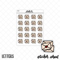 Letters stickers