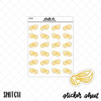 Snitch planner stickers by Studio L2E