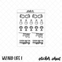 Wizard Life 1 stickers by Studio L2E
