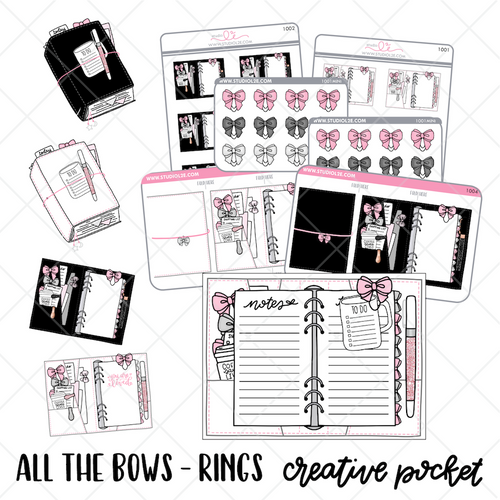 All the Bows RINGS Creative Pocket