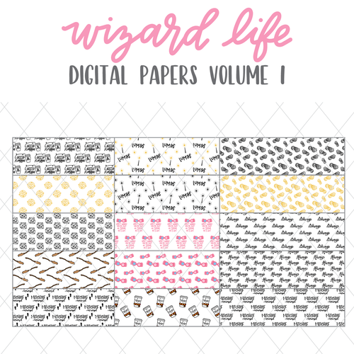 Wizard Life Volume 1 Digital Papers