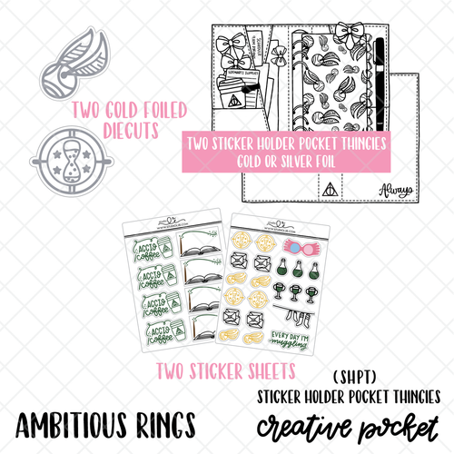 Ambitious RINGS Creative Pocket