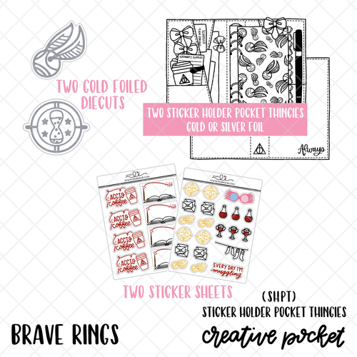 Brave RINGS Creative Pocket