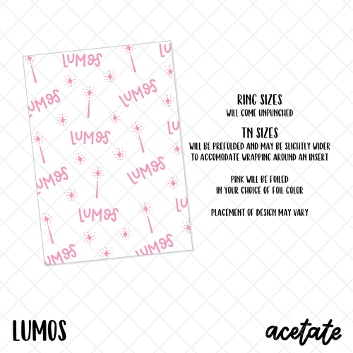 Lumos Foiled Acetate