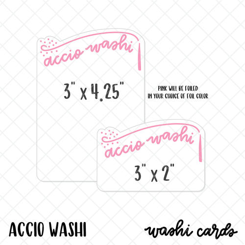 Accio Washi card