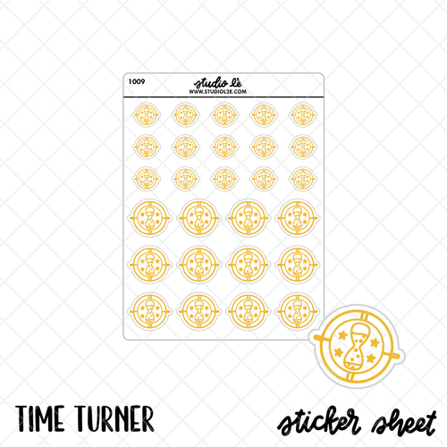 Time Turner stickers