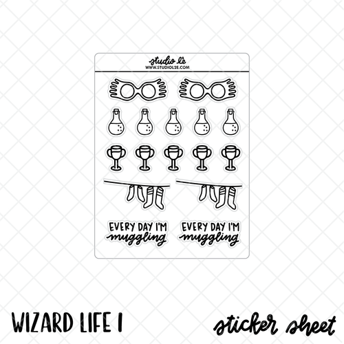Wizard Life 1 stickers by Studio L2E