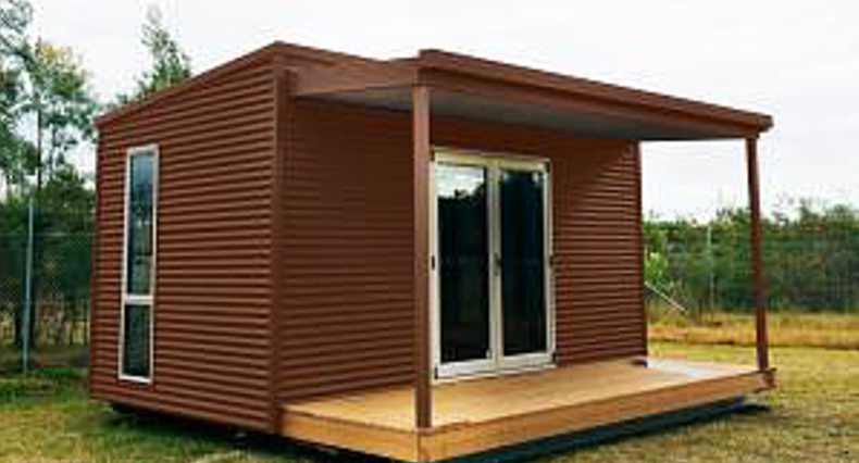 Sample pod kit with matching deck and veranda kit completed