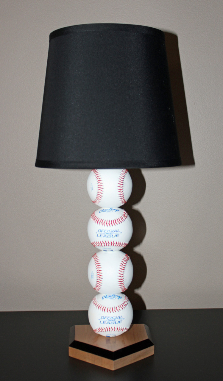grand slam baseball lamp sporty beds - Baseball Lamp