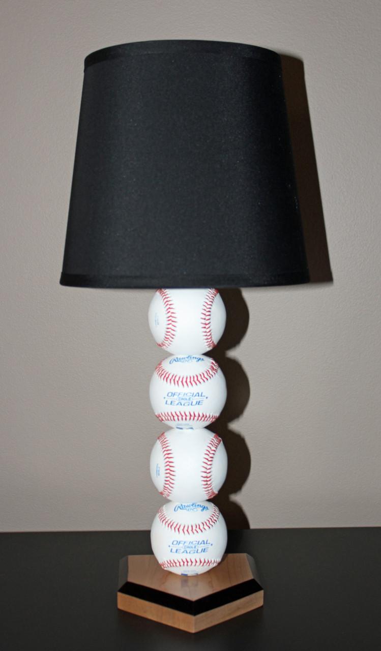 grand slam baseball lamp sporty beds - Baseball Lamp
