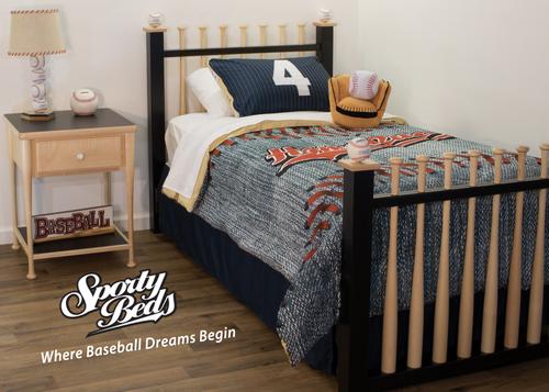 Grand Slam 3 Piece Twin Bedroom Set Sporty Beds