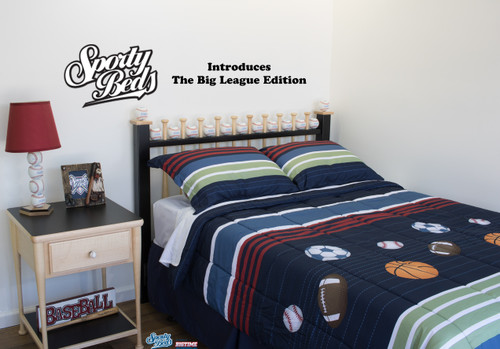 Queen Baseball Bed Giving You A Bedroom Like No Other Big