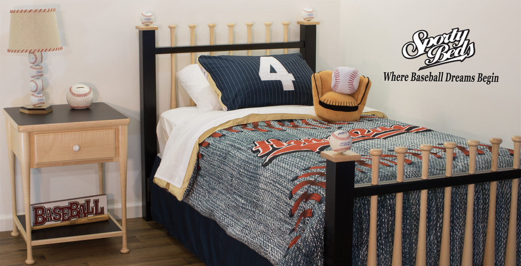 Baseball Furniture For Kids And Adults Of Any Age Sportybeds