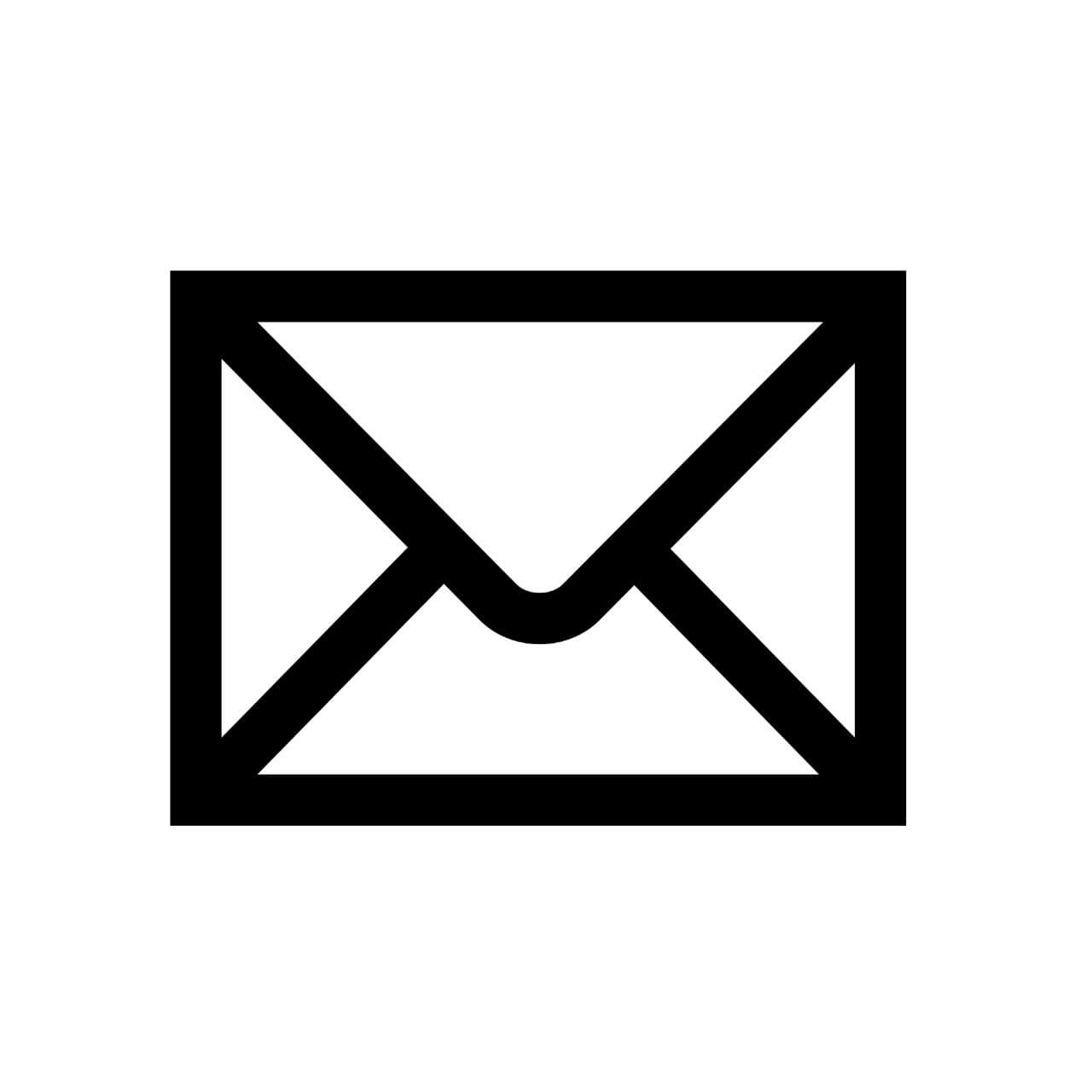 envelope icon - contact decibullz