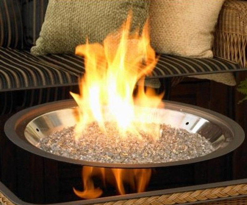 "20"" Round DIY Firepit Burner Kit"
