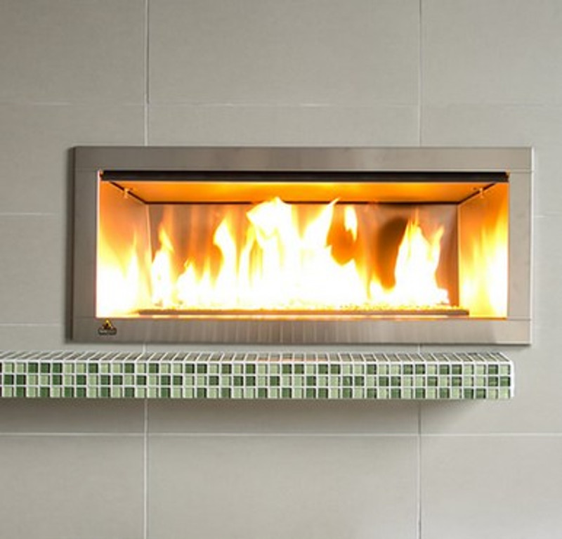 """36"""" Outdoor Linear Gas Fireplace"""