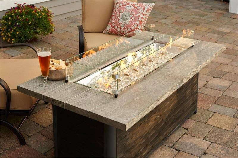 Cedar Ridge Fire Table by Outdoor Greatroom