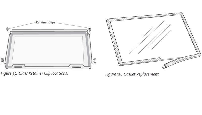 Jotul GI 550 Replacement Glass