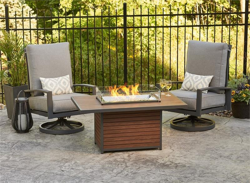 Kenwood Chat Fire Pit Table