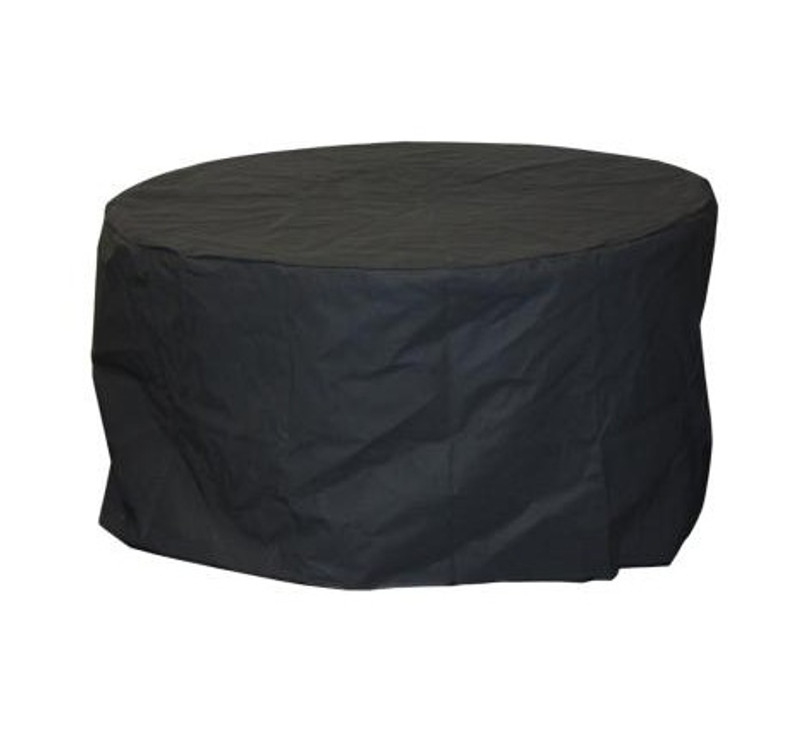 Round Fire Pit Covers from Outdoor Greatroom