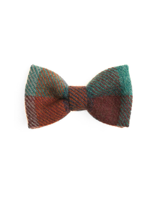 Donegal Tweed Bow Tie - Harlequin