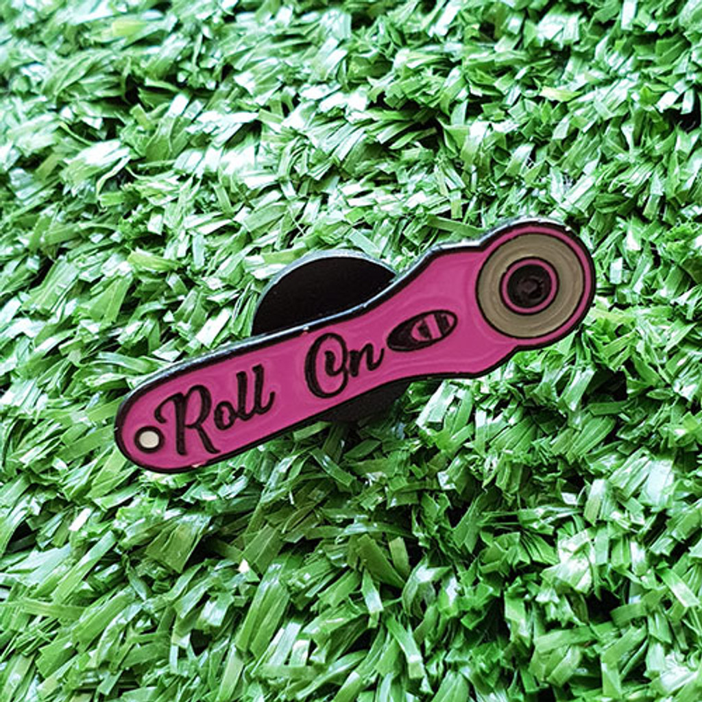 Enamel Pin - Roll On