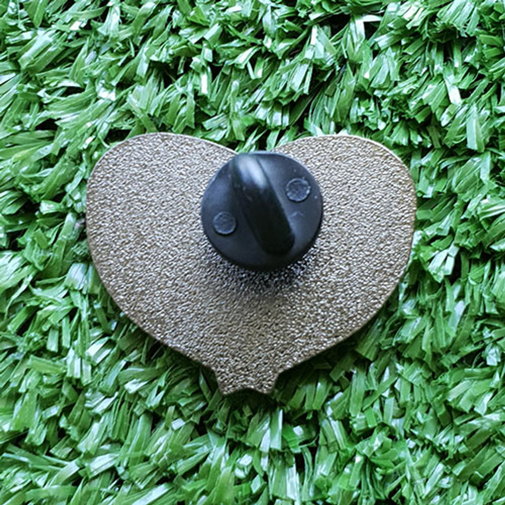 Enamel Pin - Tape Measure Heart