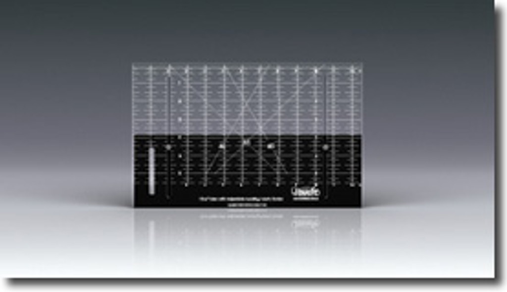 Adjustable Ruler - 12.5 x 6.5 inches